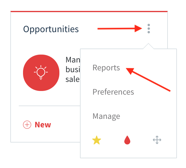 Method:CRM opportunities app