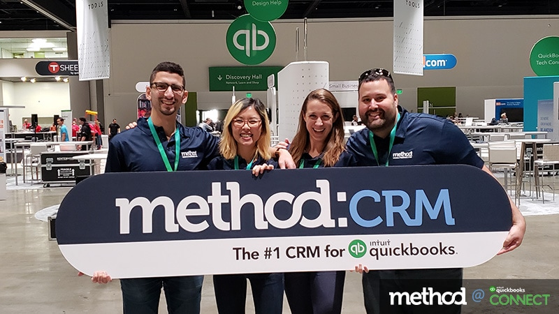 Method CRM team at QuickBooks Connect San Jose