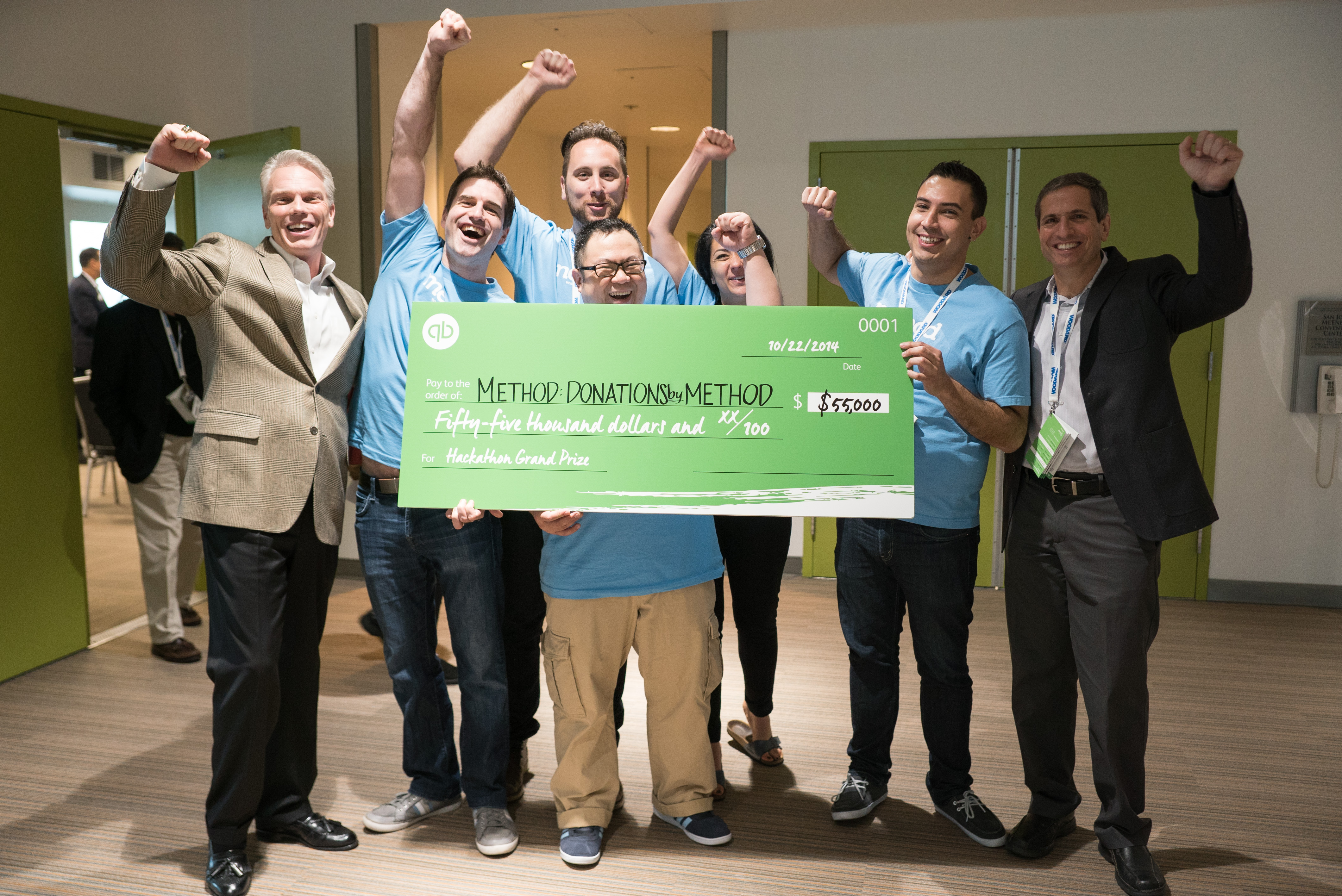 Method CRM hackathon winners at QuickBooks Connect 2014