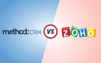 CRM Comparison: Method vs. Zoho [Infographic]