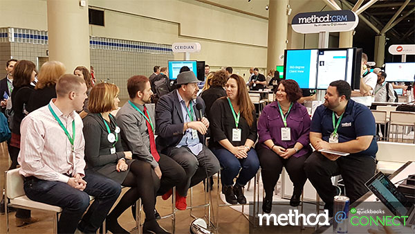 Method:CRM fireside chat at QuickBooks Connect Toronto