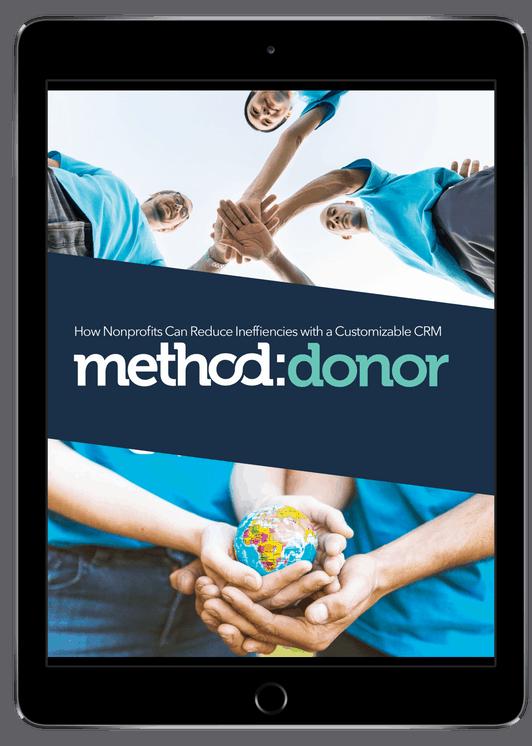Ipad showing Method Donor ebook