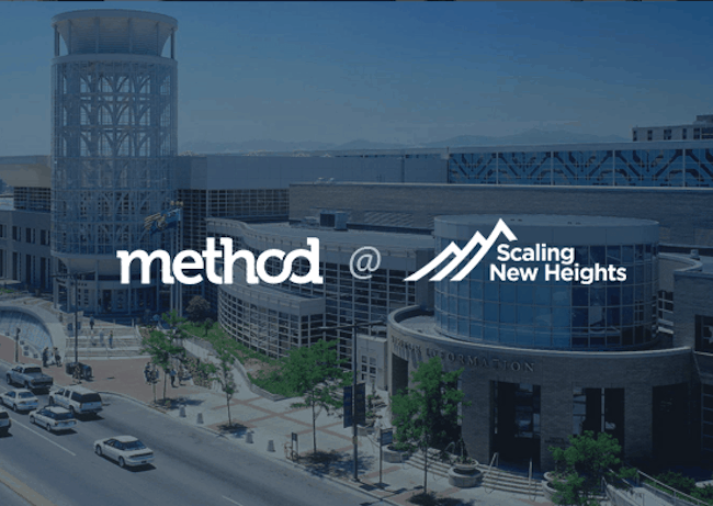 Method CRM at Scaling New Heights 2019 in Salt Lake City