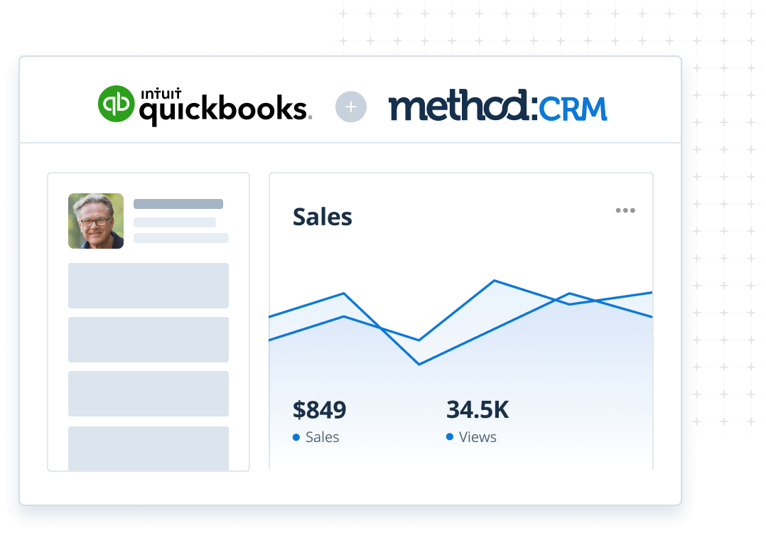Use QuickBooks data in Method's Mailchimp CRM