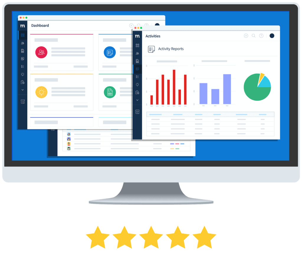 5 star rating of Method:CRM on desktop.